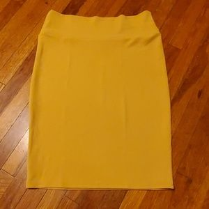 "LuLaRoe ""Cassie"" Pencil Skirt, Size Large"